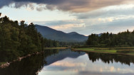 A beautiful river picture in the Adirondack Mountains.